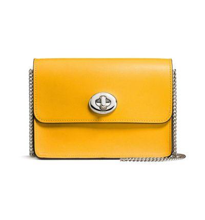 "Cross-body Coach bag at <a href=""http://shop.davidjones.com.au/djs/ProductDisplay?catalogId=10051&amp;productId=12745097&amp;langId=-1&amp;storeId=10051"" target=""_blank"">David Jones</a>, $450<br />"