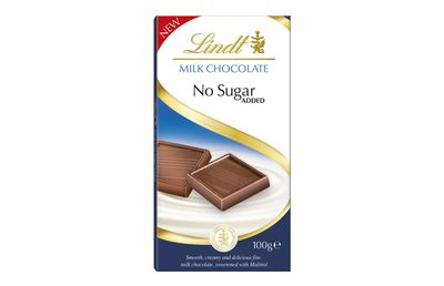 Lindt No Added Sugar Milk Chocolate