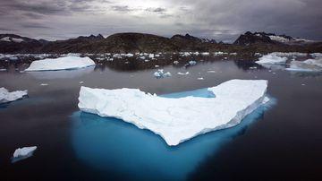 190423 Greenland ice sheet melting Climate Change world news
