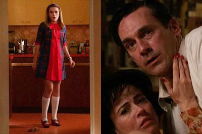 The '60s advertising drama limped a bit this season, but still had the power to shock when Don Draper's (Jon Hamm) daughter Sally (Kiernan Shipka) walked in on him having sex with neighbour Sylvia (Linda Cardellini). No wonder she asked to go to boarding school! Sally Draper's innocence was lost forever.<br/>