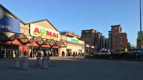 A Milan supermarket