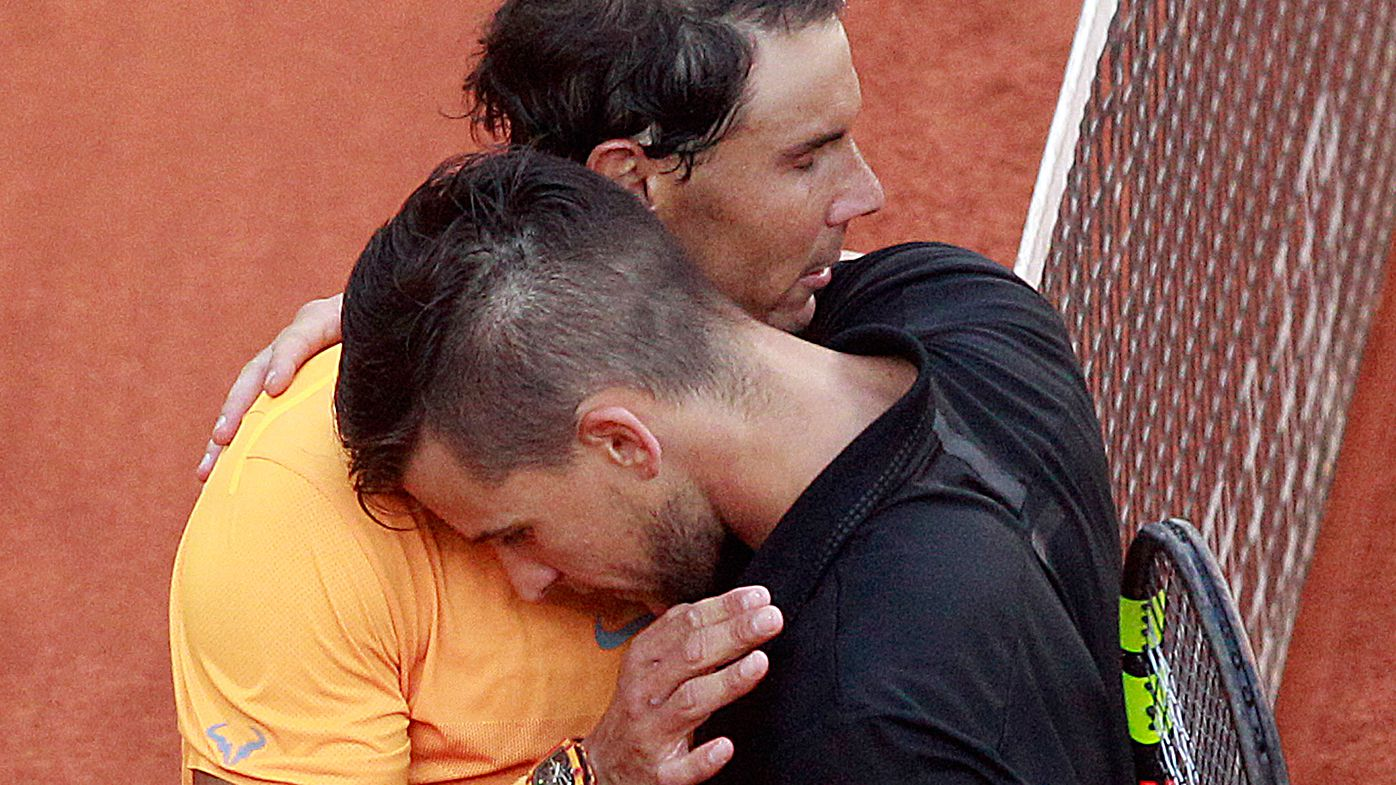 Rafael Nadal's record run on clay ended by Dominc Thiem at Madrid Open