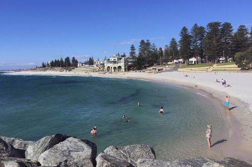 Cottesloe Beach is one of Perth's most popular beaches. (AAP)