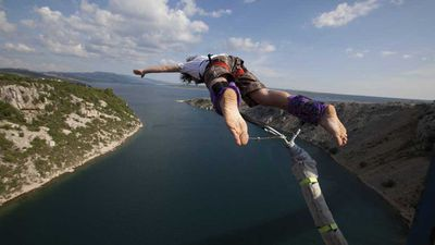 Swap diving for bungee jumping