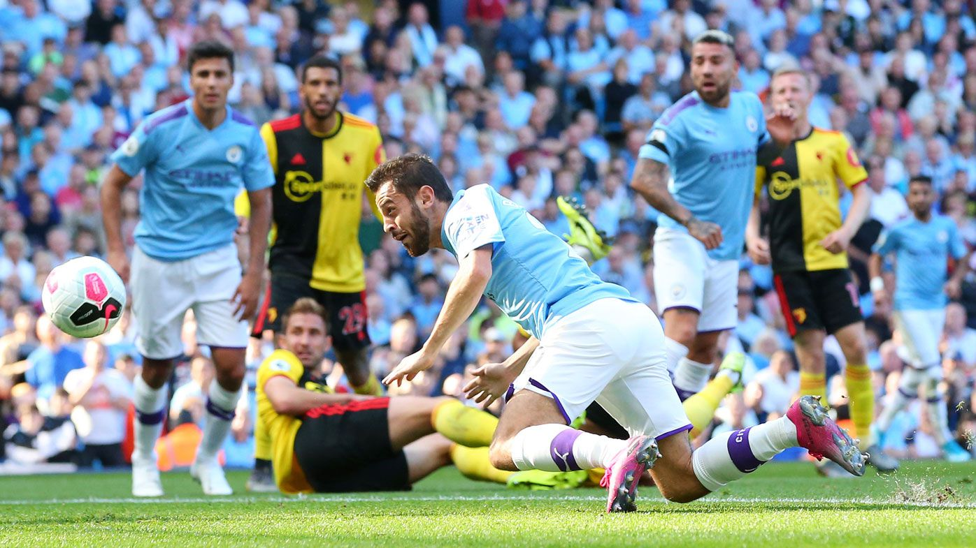 Manchester City smash eight goals past Watford in English Premier League rout