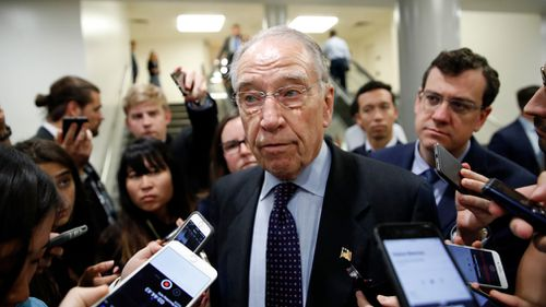 "Senate Judiciary Committee Chairman Chuck Grassley, R-Iowa said the ""investigation found no hint of misconduct""."