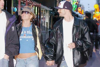After marrying and divorcing first hubby Jason Alexander within a week, Spears found love with back-up dancer Kevin Federline.