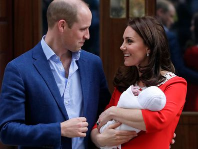Prince William Kate Middleton Prince Louis birth