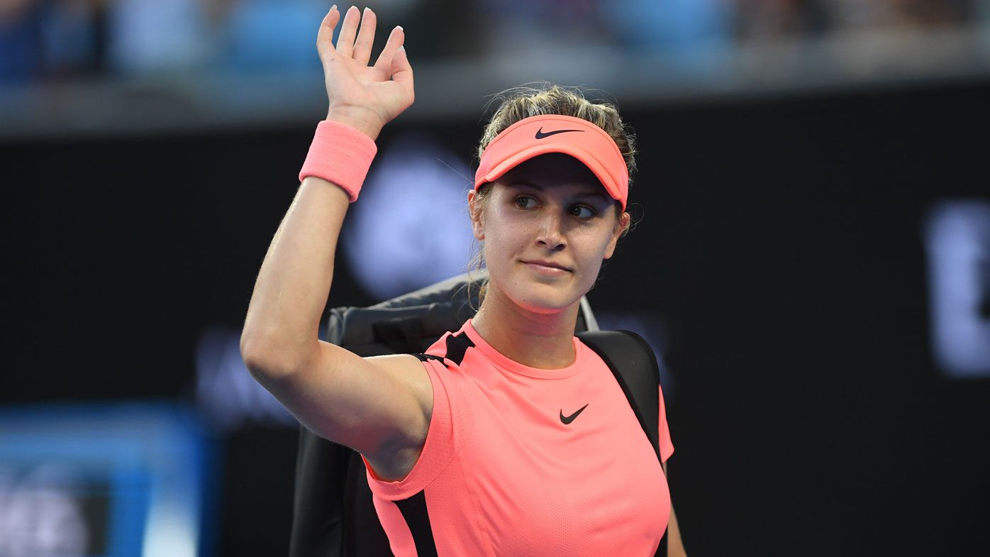 Canadian tennis star Eugenie Bouchard testifies about slip at US Open