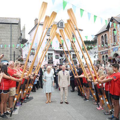 <p>Prince Charles and Camilla visit Cornwall, July 2018</p>