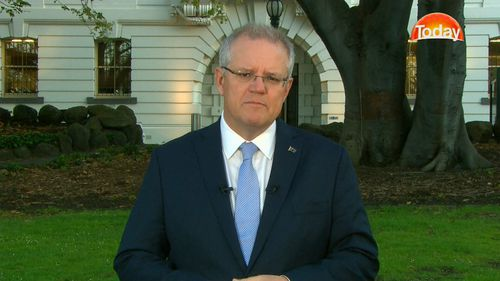 Prime Minister Scott Morrison is pushing the tax cuts through and plans to have them implemented five years early.