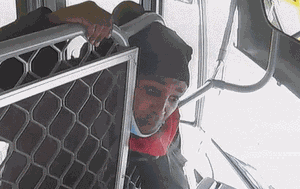 CCTV revealed of man spitting in bus driver's face in East Melbourne