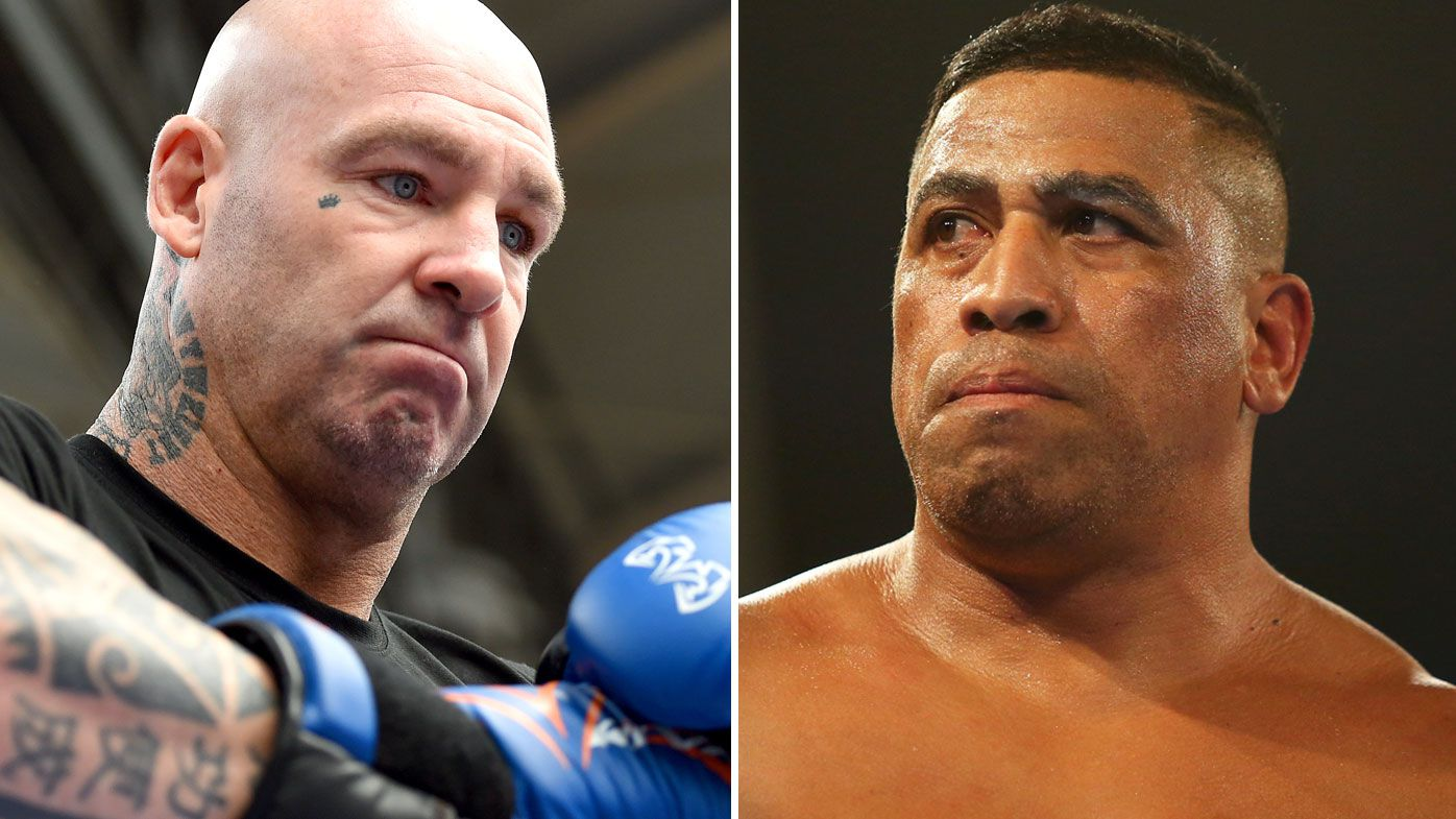 Lucas Browne and John Hopoate