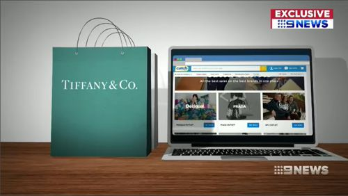 The Catch Group has launched Australia's first online brands outlet store, offering big discounts on some of the world's biggest brands. Picture: 9NEWS.
