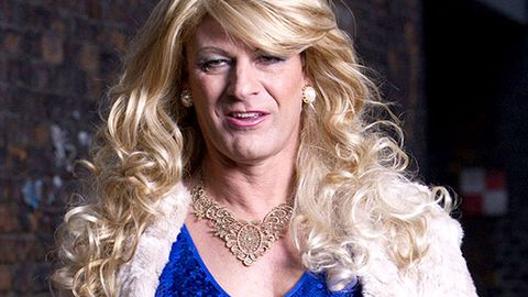 First pics: Sean Bean plays a transsexual in BBC drama