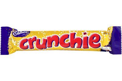 Crunchie (50g): 223 calories/931kj