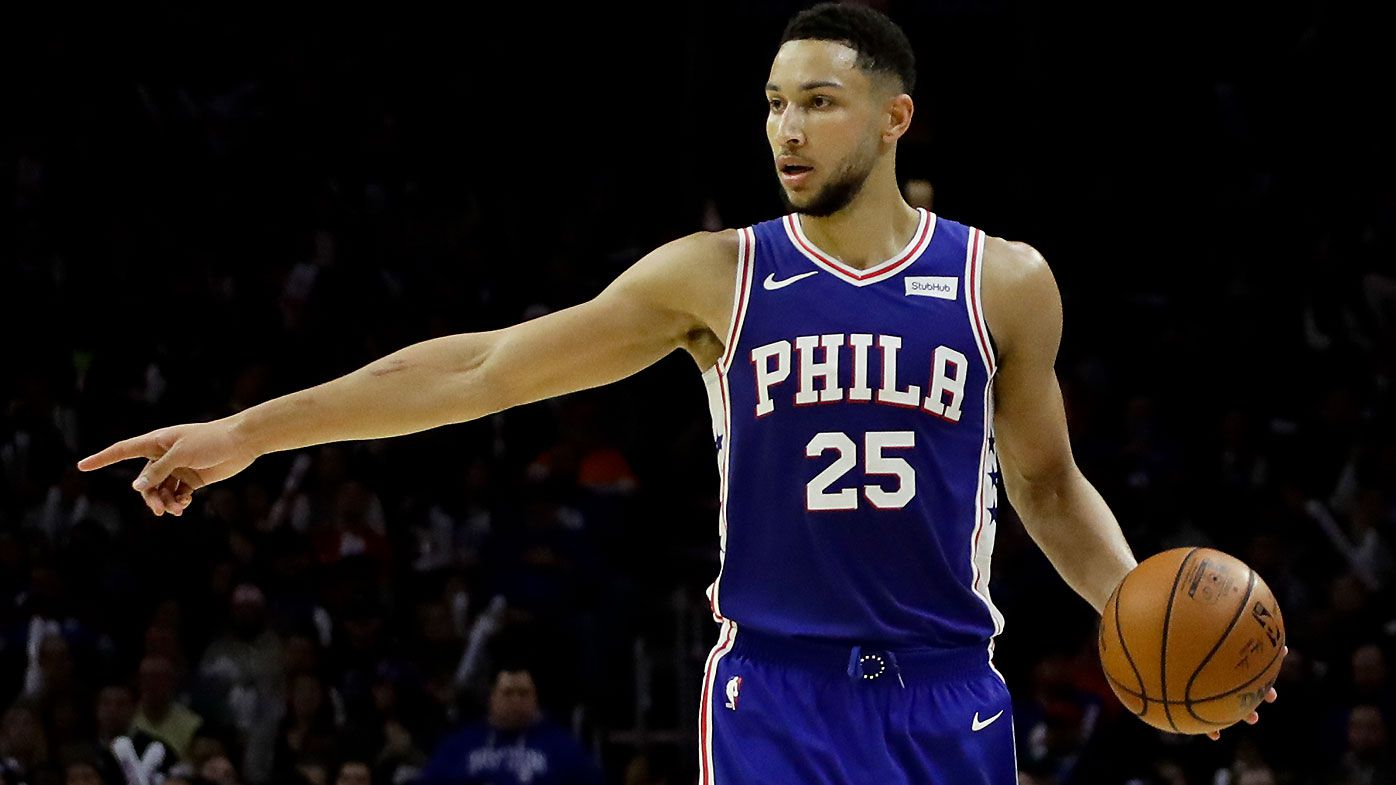 NBA  Ben Simmons  aggression praised after heritage night Sixers win b1ed933e6