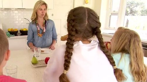 Busy mum Mia Synman said she wanted her four children to enjoy freedom, while remaining safe. (9NEWS)