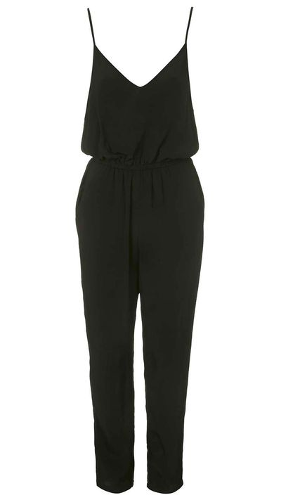 "<p><a href=""http://www.topshop.com/en/tsuk/product/clothing-427/playsuits-jumpsuits-2159081/strappy-back-jumpsuit-4327432?bi=1&amp;ps=200"" target=""_blank"">Jumpsuit, $80 approx, Topshop</a></p>"