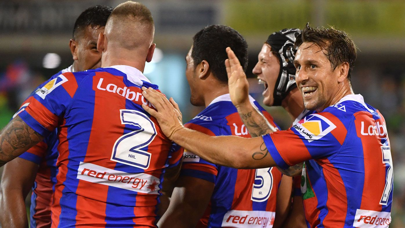 Newcastle Knights recruit Mitchell Pearce 'excited' for NRL clash against former club Sydney Roosters