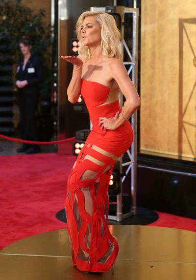 <p>Sophie Monk in Galanni</p>