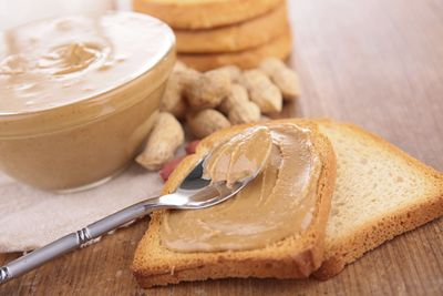 <strong>Reduced fat peanut butter</strong>
