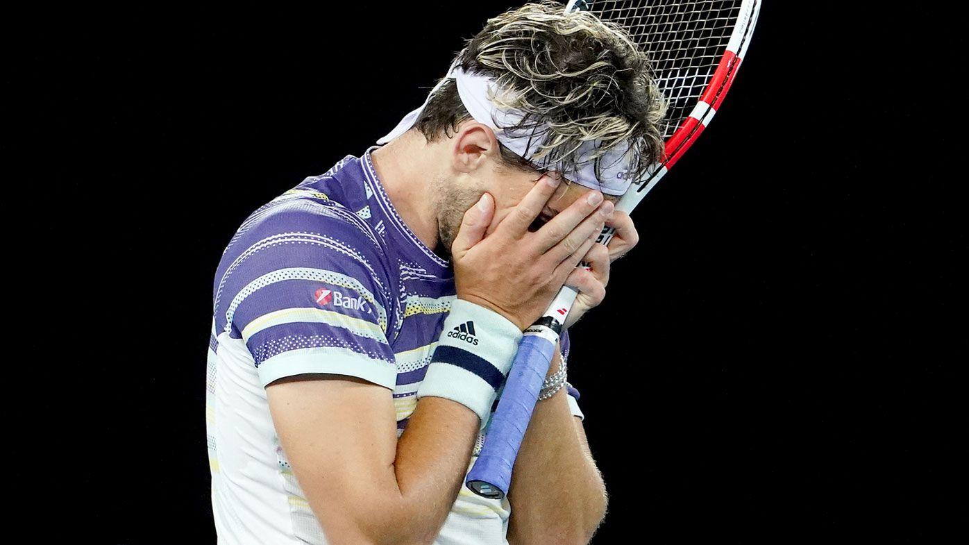 Dominic Thiem overcomes sickness to set up Australian Open final showdown with Novak Djokovic