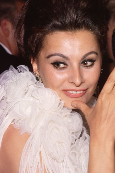 Sophia Loren's perfectly winged eye (pictured here in 1963), has long provided red carpet inspiration.