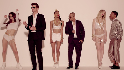 'Blurred Lines' music video