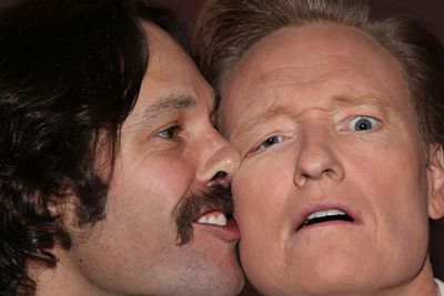 "We'll admit it, this five-star snap by comedians Paul Rudd and Conan O'Brien was unlikely an accidental occurrence, but it makes for a great satire of celebrity selfies! O'Brien tweeted the pic alongside the caption, ""Paul Rudd and I just did a #selfie. We're not good at this.""<br/><br/>Image: Twitter @conanobrien"