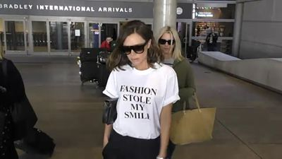 Victoria Beckham 'just needs some rest' after injury lands her on crutches