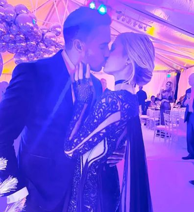 Paris Hilton and boyfriend Carter Reum.