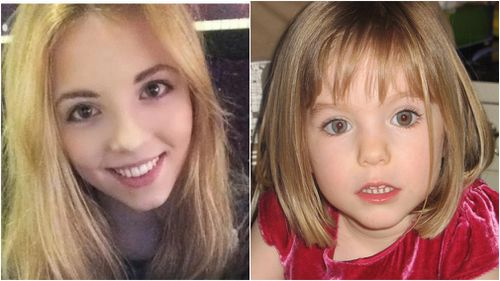 "Harriet Brooke's ""joke"" about missing girl, Madeleine McCann, has drawn criticism online. (Facebook/AAP)"