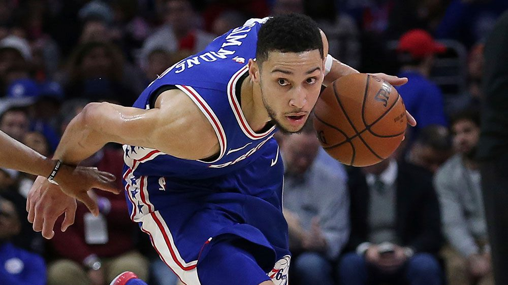 Simmons' 76ers rock the Wizards in the NBA