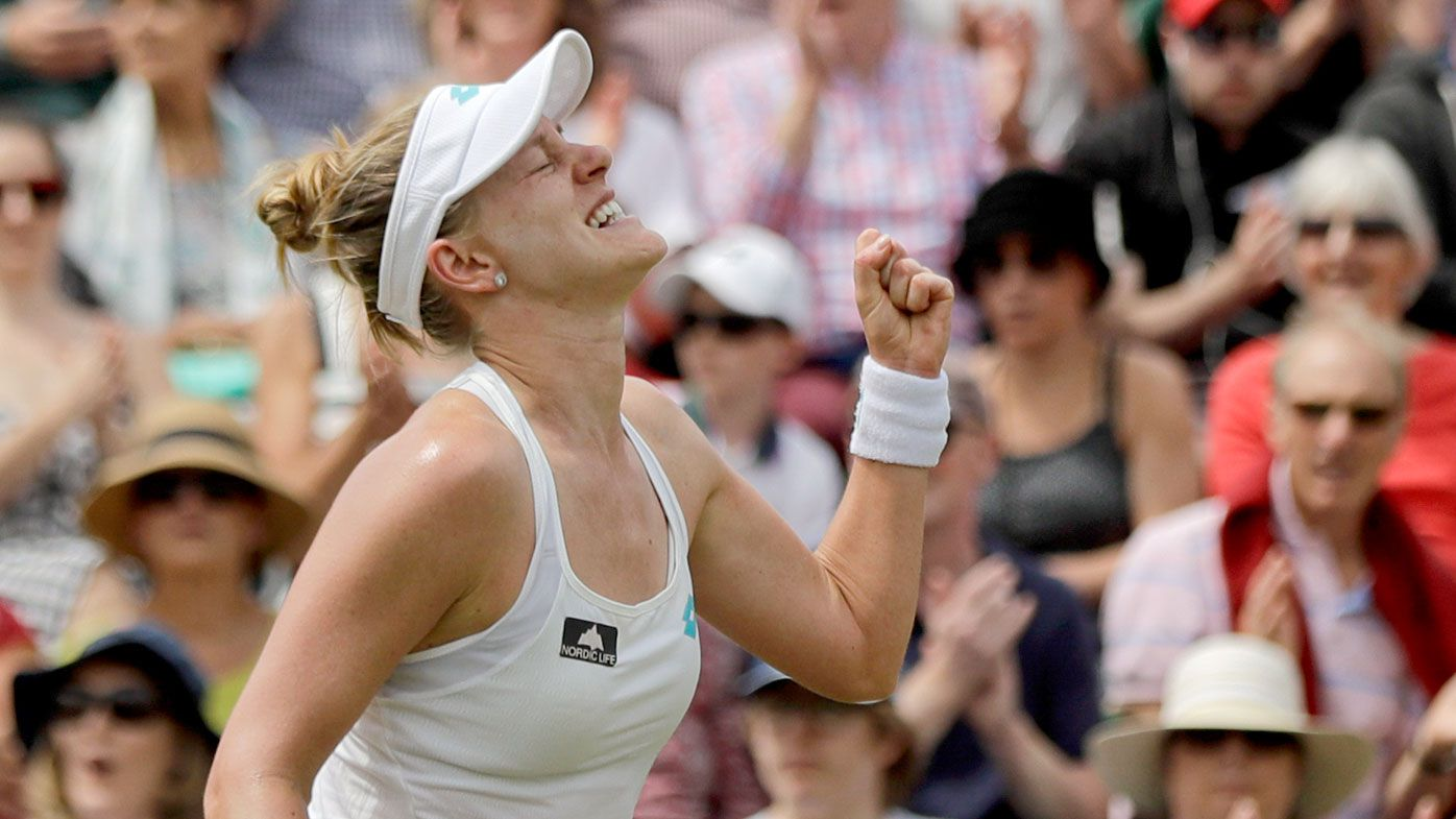 'It's just so special': Unseeded grass court specialist Alison Riske shocks World No.1 Ashleigh Barty