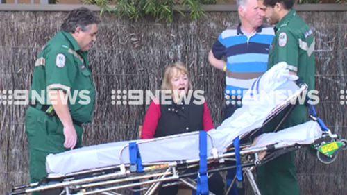 Judge Julie McIntyre sustained minor injuries in the crash. (9NEWS)