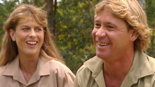 Steve and wife Terry Irwin.
