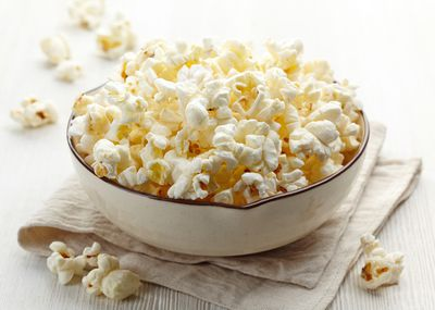 <strong>...for air-popped popcorn (100 calories).</strong>