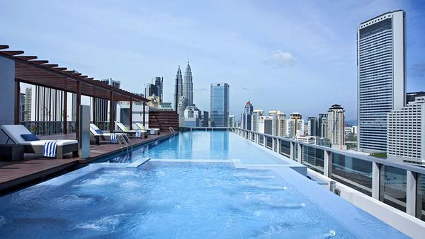 Somerset Ampang pool