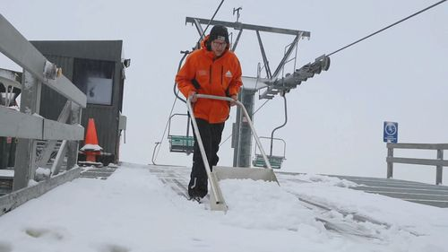 More snowfall is expected in the next three days. Picture: Thredbo