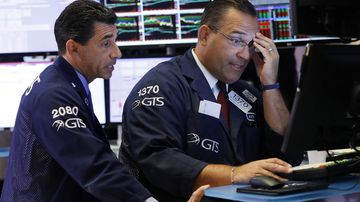 Wall Street reaction to recession fears.