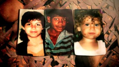 The three victims of the Bowraville murders - 16 year-old Colleen Walker, 16 year-old Clinton Speedy & 4 year-old Evelyn Greenup. (60 Minutes)