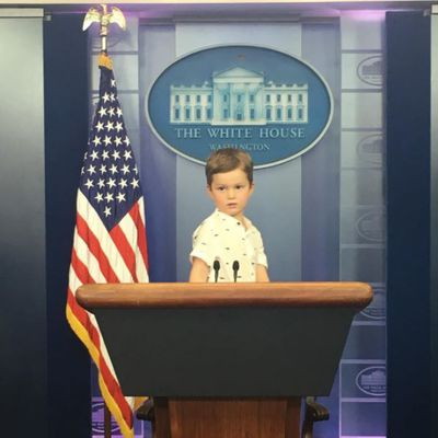 Joseph staged his first press conference. Went well apparently. Ah just kidding.