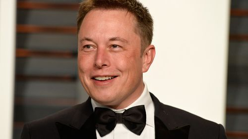Elon Musk has asked staff to speed up production of his Tesla Model 3 vehicles. (AAP)