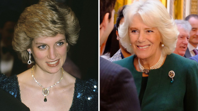 The Duchess of Cornwall redesigns one of Princess Diana's necklaces
