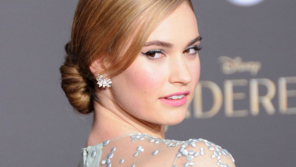 Cinderella's Lily James is a muse for all brides