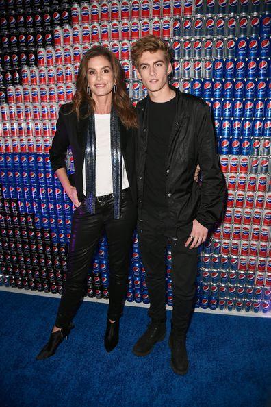 Cindy Crawford and son Presley Gerber