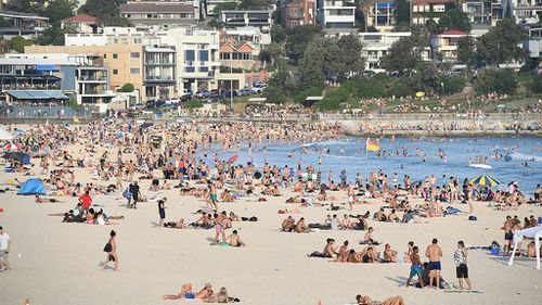 The cold snap follows the hottest Sydney summer on record. (AAP)