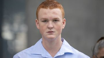Ryan Hodson leaves the Supreme Court in Brisbane after his charges were dropped. Picture: AAP