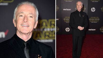 C-3PO actor Anthony Daniels. (Getty)